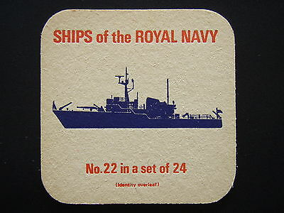 SHIPS OF THE ROYAL NAVY No.22 IN A SET OF 24 SURVEY VESSELS COASTAL COASTER