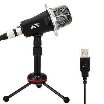 TONOR USB Professional Condenser Sound Podcast Studio Microphone for PC Laptop C