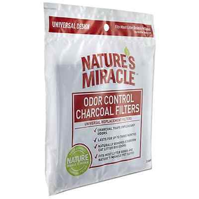 Nature's Miracle Odor Control Universal Charcoal Filter, 2-Pack