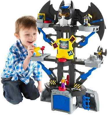 Fisher-Price Imaginext DC Super Friends Transforming Bat Cave Toy