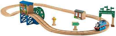 Fisher-Price BDG59 Thomas The Train Wooden Railway Steaming Around Sodor Track S