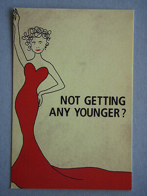 Avant Card #13186 2009 Judith Lucy Not Getting Any Younger Postcard