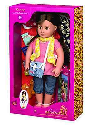 """Our Generation Deluxe Doll - Reese & """"The Curious Castle"""""""