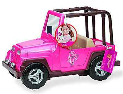 Our Generation 4x4 Jeep (Pink and Brown)