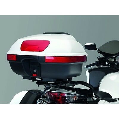 Genuine Honda VFR800 45L Top Box Luggage - 2002-2013 - Pearl White