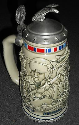 Tribute to the American Armed Forces Stein, excellent condition!