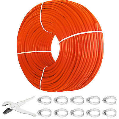 "1000' 1/2"" Oxygen Barrier PEX Tubing For Heating and Plumbing Radiant Heat Best"
