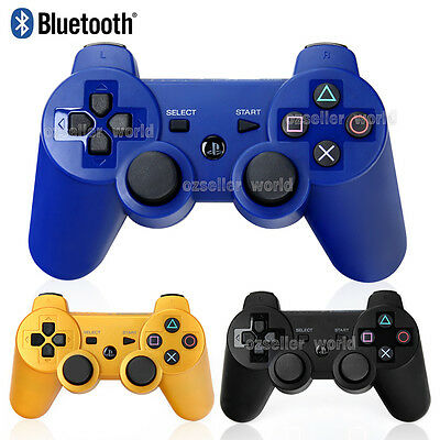 Wireless Bluetooth Dualshock Game Controller Gamepads For PS3 Playstation 3