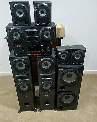 sony muteki 7.2 surround sound home theatre system