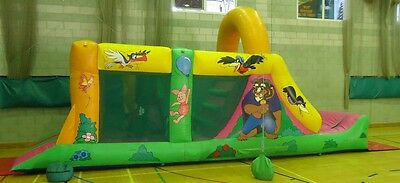 For Sale Commercial Bouncy Castle Assault Obstacle Course Run