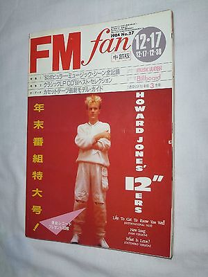 FM fan Japan Magazine book 1984 No.27 HOWARD PRINCE Cyndi Lauper PAUL McCARTNEY