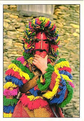 Portugal Traditional Carnival Mask Podence Tras Os Montes Postcard