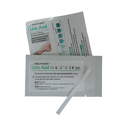 Uric Acid - Gout - Urine Test Strips