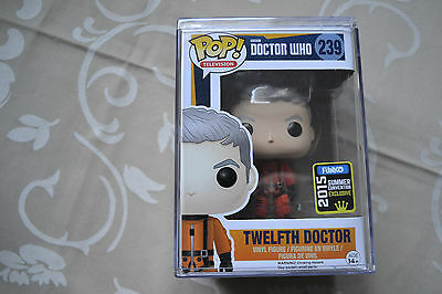 """ Doctor WHO "" 12th Doctor in SPACE SUIT RARE sehr seltener Funko POP SDCC 2015"