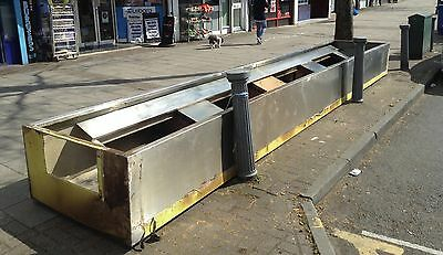 Stainless Steel Commercial Extractor Canopy Was £2750 N