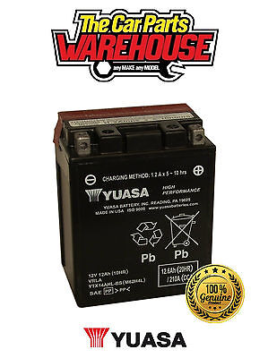 YTX14AHL-BS Genuine Yuasa Motorcycle ATV Quad Buggy Battery xX With Acid Pack Xx