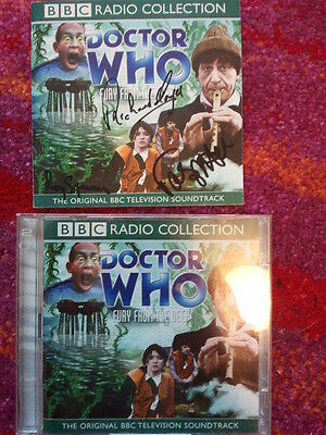 Doctor Who Radio Audio Fury from the Deep Signed Frazer Hines
