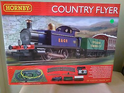 Hornby R1188 Country Flyer train set BNIB + free Woodlands Scenics DVD