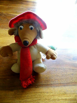 "The Wombles  - Orinoco - 6 "" Beanie Soft/plush Beanie  -  Tagged-Golden Bear"