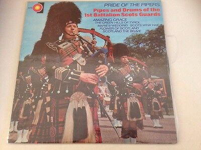 """""""THE PIPES AND DRUMS OF THE ROYAL EDINBURGH MILITARY TATTOO"""" Vinyl LP"""