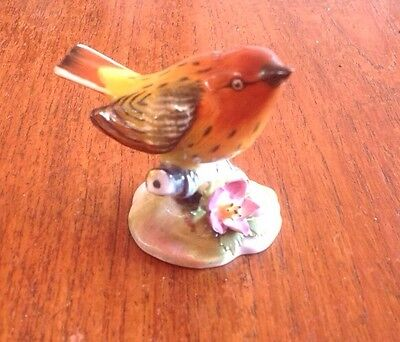 Royal Adderley Warbler In Perfect Condition Shown. Starter Of £2.99. Post/Cost