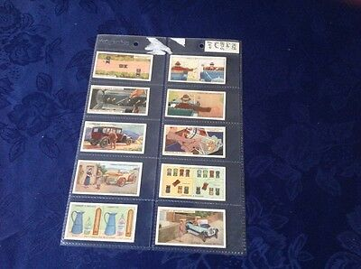 cigarette cards. L. Butler. Hints and Tips for Motorists.full set good condition