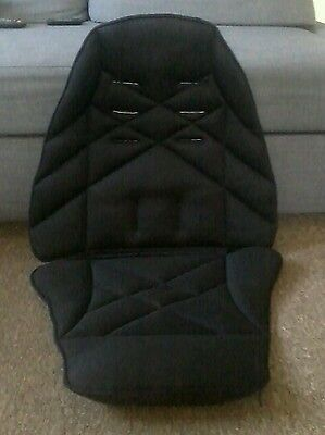 Mamas and Papas URBO Sola  Replacement Seat Cover Fabric Black with harness