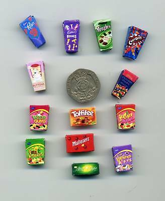 Dollshouse - 12th scale -   Selection of  SWEETS