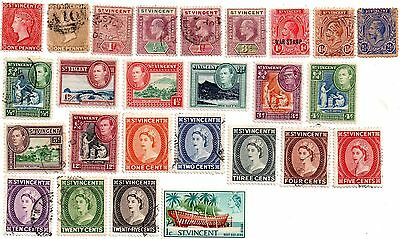 commonwealth stamps, st. vincent