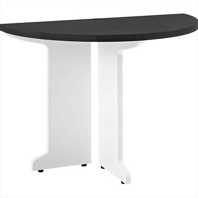 Altra Furniture Pursuit Peninsula Table Work in White and Gray