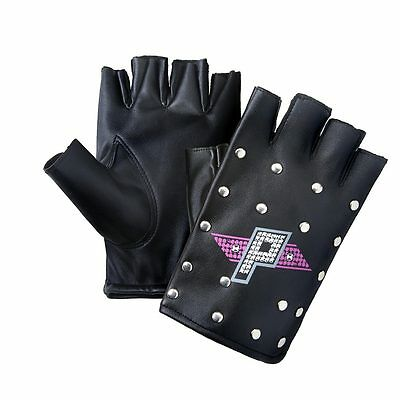 Official WWE - Paige Metal Studded Replica Gloves