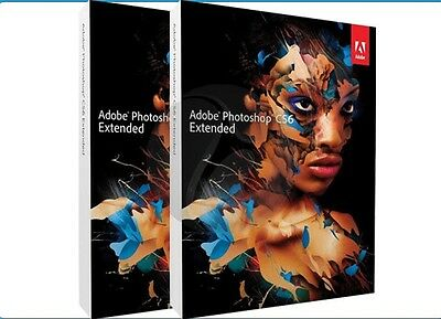 Adobe Photoshop Extended CS6/ Windows/Mac Official download Genuine Full Version