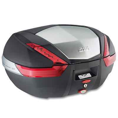 Triumph Tiger 1050 Givi V47 Monokey Top Box Top Case Brand New Aluminium Panel !