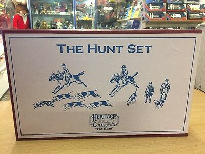 W britains the Hunt Set Sets Figures Heritage Collection 49505
