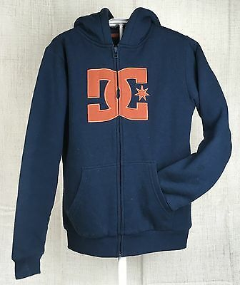 Women's DC Shoes Zip-Up Hoodie Skate Punk BMX Size M 12 Teen Sweat / Track Top