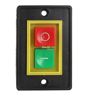 On Off Start Stop I/O Green Red Button Pushbutton Switch AC 380V 2KW