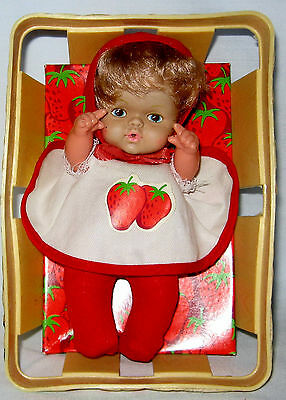 Berry Bunch Baby Doll With Basket Eegee 1979