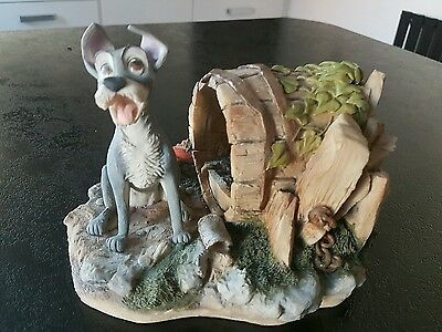 Rare Limited Edition Disney Arden Scultures Figure Tramp From Lady And The Tramp