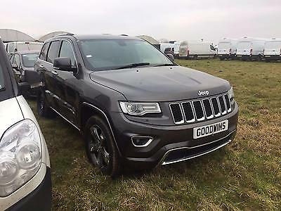 2016 16 Jeep Grand Cherokee Overland 3.0Crd 4X4 Auto Accident Damaged Salvage