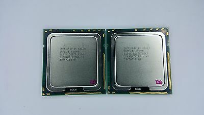 Matched Pair of Intel Xeon X5660 2.8GHz Six Core SLBV6 Processor w/Grease