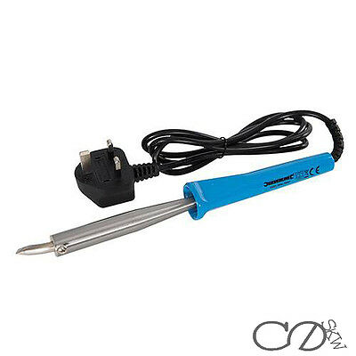 100W Soldering Iron With Bent Tip Silverline
