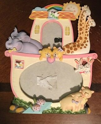 Noah's Arc Unisex Baby Boy or Girl Picture Photo Frame Approx. 9x7
