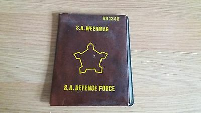 SADF PASSBOOK AND PERSONNEL ID CARD 1980's