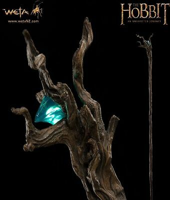 The Hobbit: Staff of Radagast The Brown by Weta - Brand New In Box and Complete
