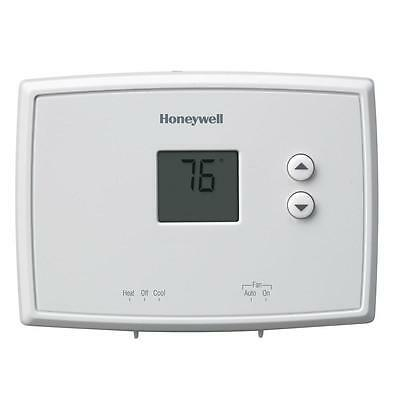 Lot of 9 (3 Cases) - Nine HONEYWELL RTH111B Digital Non-Programmable Thermostats