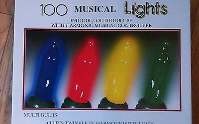 musical lights twinkle 100 sync  harmony 8 carols lights with or without music