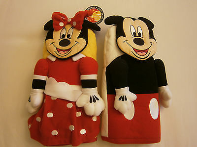 Mickey & Minnie Mouse Oven Mit Pot Holders Set Disney Kitchen Oven Nwt