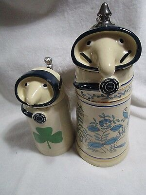 Utica Club Schultz and Dooley SCUBA DIVERS 1st First Edition Beer Stein