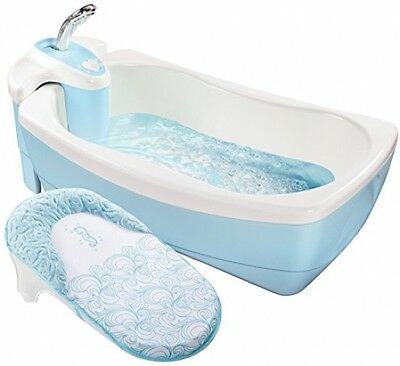 Whirlpool Infant Shower Bubbling Spa Baby Bubble Bath Safety Tub 0-2yrs Old