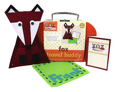 Brand New Makemee Woodland Friends Make Your Own Cushion Fox Kids Craft Ages 3+